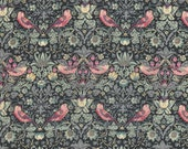Liberty Fabric Strawberry Thief L Tana Lawn Fat Quarter Floral Birds William Morris