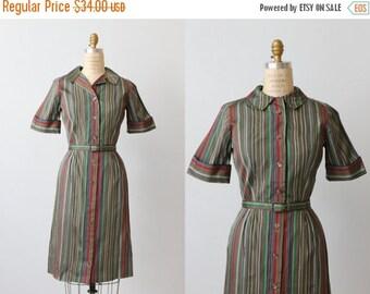 SALE 1960s Vintage Dress / Shirtwaist Dress / Day Dress / Pixie Stix