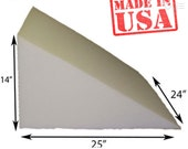 25-24L x 24W x 14H, Wedge Pillow COVER