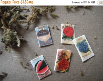 ON SALE Miniature Seed Packets