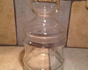 Hollow Knob Apothecary Jar