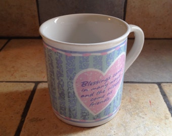 Blessings Come in Many Ways... Hallmark Mug