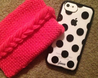 Drop that Stitch Knit Phone Case
