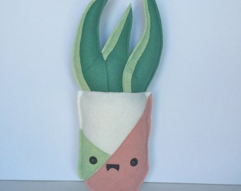 House Plant Felt Plush - Succulent - Planter - Plushie