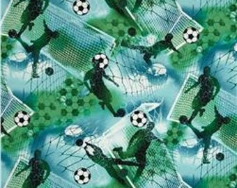 Soccer Fabric by Fabri-Quilt (by the yard)