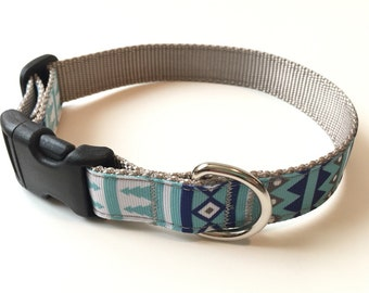 Dog Collar - Designer Dog Collar - Adjustable Dog Collar - Pet Gift