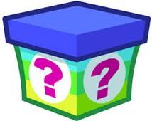 Mystery Box. Rainbow Loom Charms and Bracelets