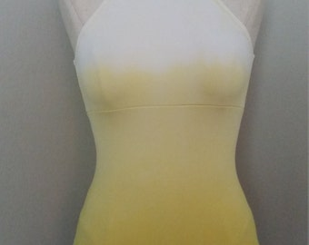 Dip Dyed Ombre Custom Leotard