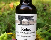 Relax Herbal Stress and Anxiety Formula Calming  For Dogs.   External