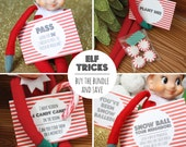 Printable Elf Tricks Bundle