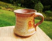 Wood-Fired  Carbon Trap Shino Mug