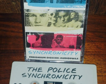 The Police Synchronicity Vintage Cassette Tape