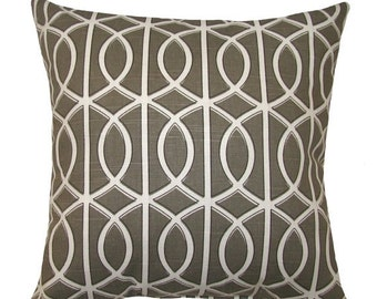 4th of July Modern Throw Pillow - Dwell Studio Bella Porte Brindle modern Decorative Throw Pillow Free Shipping
