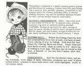 Cowboy Sock Doll PATTERN 479 a Vintage Doll PATTERN made of Socks will be about 15 inches in PDF format for an instant download