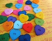 Heart buttons for Shelley.