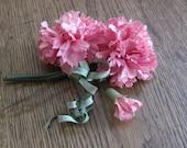 Vintage Millinery Flower, Carnation