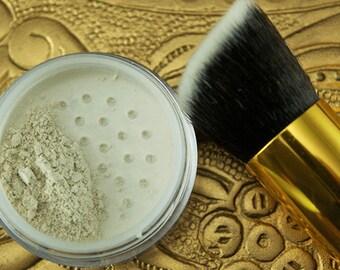 MEDIUM Face & Hair Powder Australian kaolin clay organic translucent