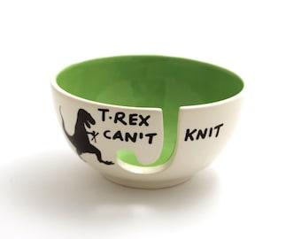 T-Rex Yarn Bowl