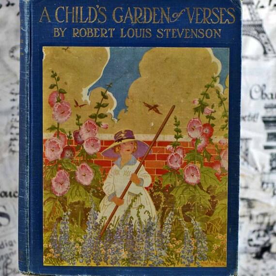 A Child 39 S Garden Of Verses By Robert Louis Stevenson 1928