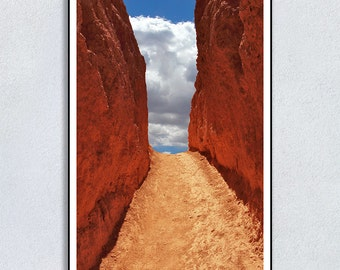 "Heaven's Gate - Utah Photograph 1 - 12""x18"" Paper Print w/ Frame option ~ Art Photography, Spiritual, Religious, Nature, Bryce Canyon"