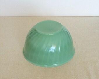 Jadeite Fire King Bowl Mint Green