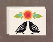 Birdsong Duo - Notecard