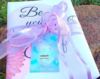 gift tag set, beautiful dreamer, butterfly gift tags, butterfly wings, large gift labels, swing tags