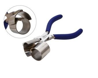 Miland  Bracelet Bending Pliers Round/Half Round 1 3/8 Inch
