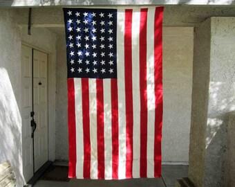 Vintage 48 Star United States Flag by Annin. Circa 1912 - 1959.