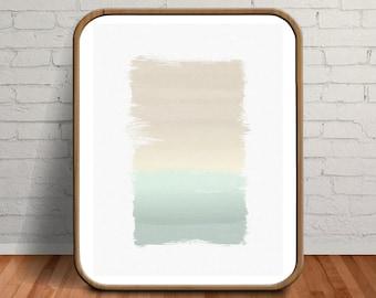 Oil Painting, Minimalist Print, Neutral Abstract Art, Abstract Print, Minimalist Art, Pastel Print, Beige Art, Beige Print, Beige Wall Art
