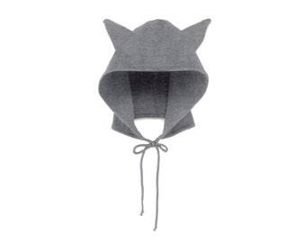 Wolf Hoodie Hat