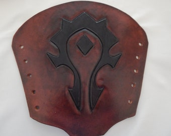 Leather Bracers The Horde Over Stock Sale/FREE U.S. SHIPPING