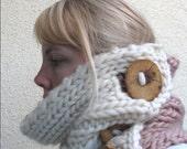 Anyu cowl - knitting pattern - pdf