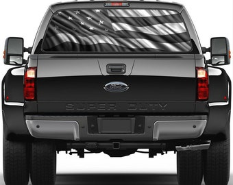 Rear Window Decal Etsy - Chevy windshield decals trucks