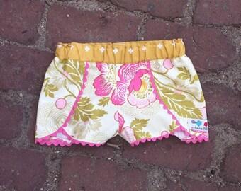 Girl Shorts + Coachella + Floral