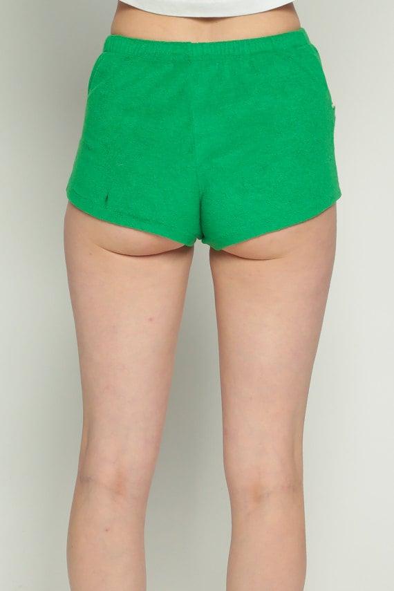 Gym Shorts Terry Cloth Shorts 80s Running Shorts Hot Pants