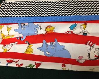 Dr Seuss pillowcase