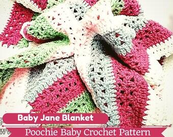 PATTERN - Crochet Baby Jane Blanket