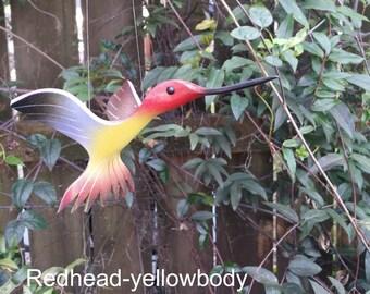 Flying PVC Hummingbird Bird