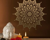 Mandala Stencil Radiance - Mandala Stencil for DIY Wall Decor - Better than Decals - Easy and Affordable
