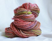 Hand spun Super fine merino worsted 220 yards