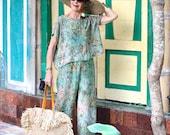 Irra Top, One Size, Rayon, Bali Batik