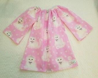 Kittens dress, girl dress, pageant dress, Cats dress, Pets dress