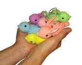 Easter Pastel Little Birds Pdf Email Knit PATTERN