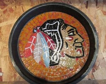 Chicago Blackhawk Mosaic/stepping stone kit