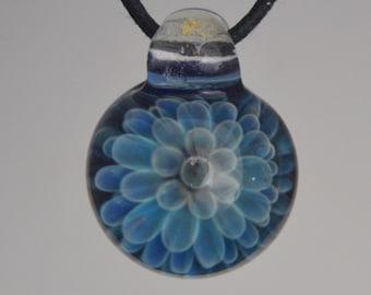 Glass Necklace - Handblown Glass Jewelry - Lampwork Pendant
