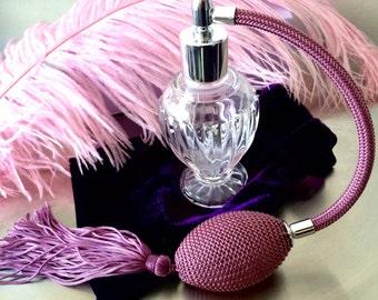 Fancy Perfume Atomizer Purple