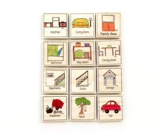Our House - Chore Magnet Set of 12 - Chore Magnets