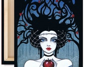 """LIMITED EDITION: """"Snow White"""" Canvas Reproduction 2 of 10"""