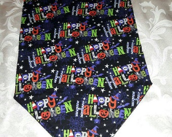 Halloween Table Runner 72x14 Reversible and Padded